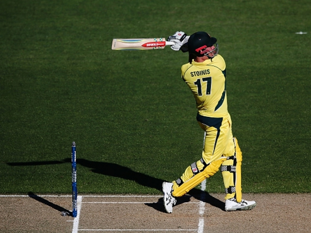 Finch ton helps Australia to big total