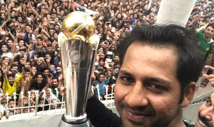 Sarfraz Ahmed Champions Trophy retun home