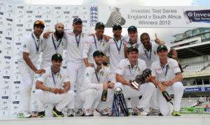 Proteas Test series winners 2012