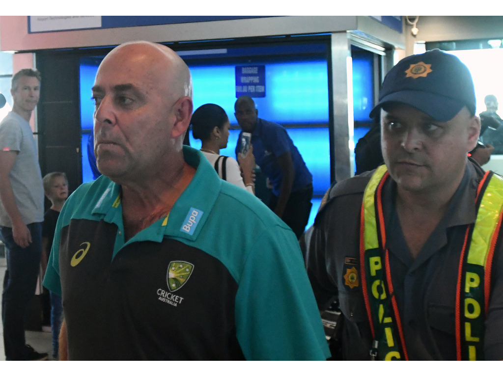 Ball-tampering scandal forces head coach Darren Lehmann to resign
