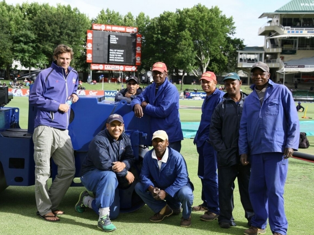 Newlands ground staff