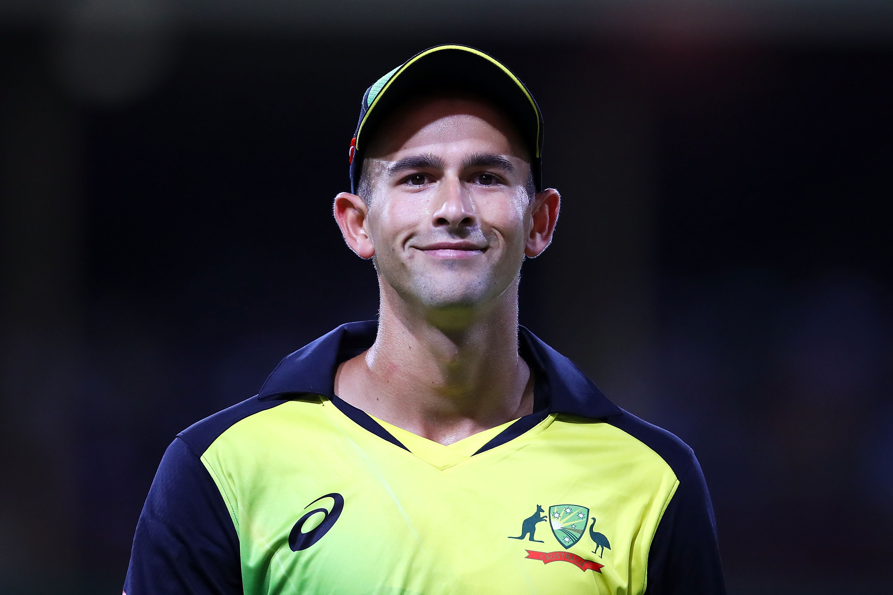 Ashton Agar smiling