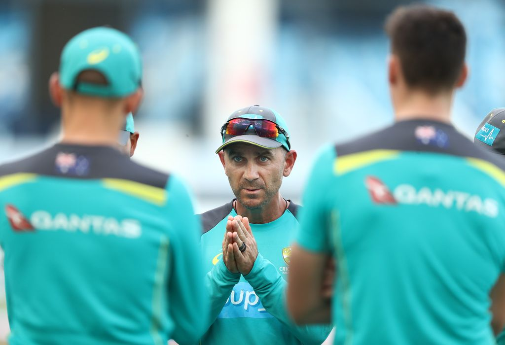 Justin Langer urges his charges to search for the man in the mirror and other classic Michael Jackson bangers.