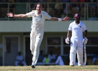 Stuart Broad hat-trick England West Indies