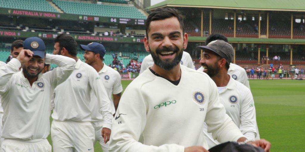 Virat Kohli India Australia PA