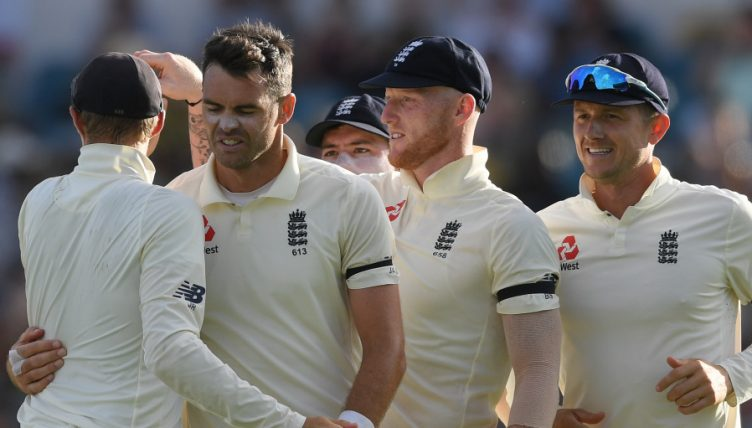 James Anderson England West Indies