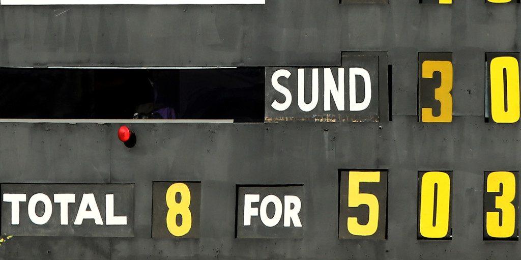 Australian scoreboard PA