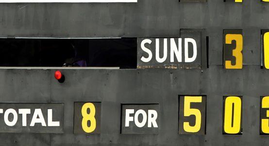 Australian score board