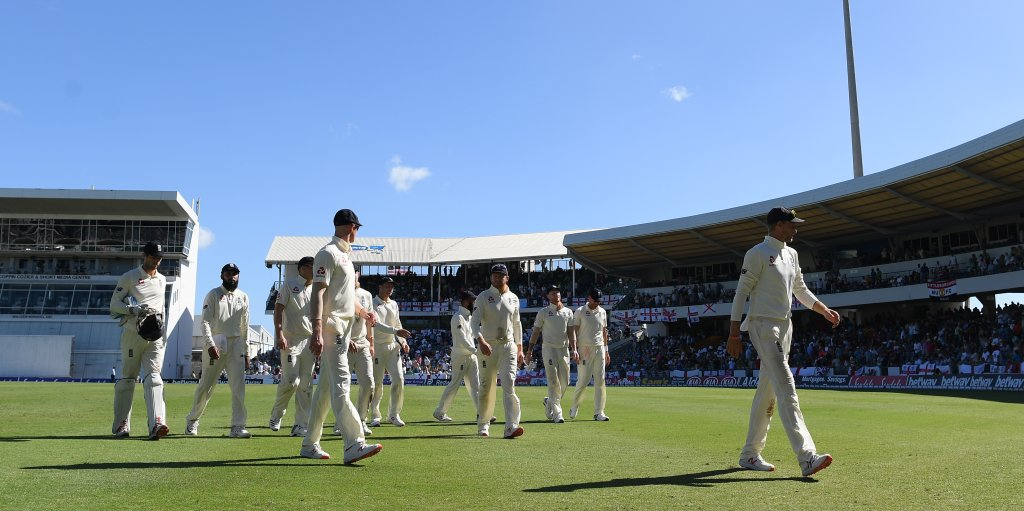 England West Indies first Test