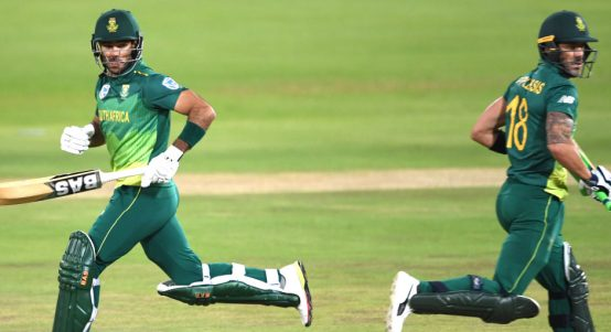 Reeza Hendricks Faf du Plessis South Africa