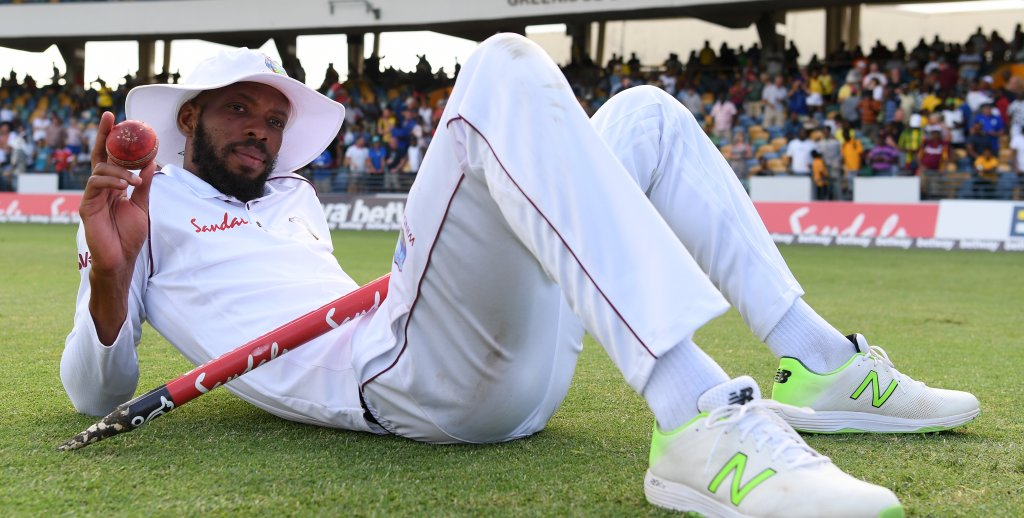 Roston Chase eight for 60 West Indies