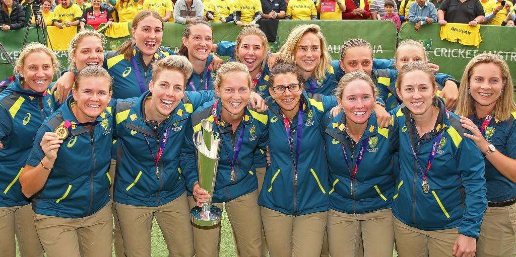 Australia women's World T20 winners 2018