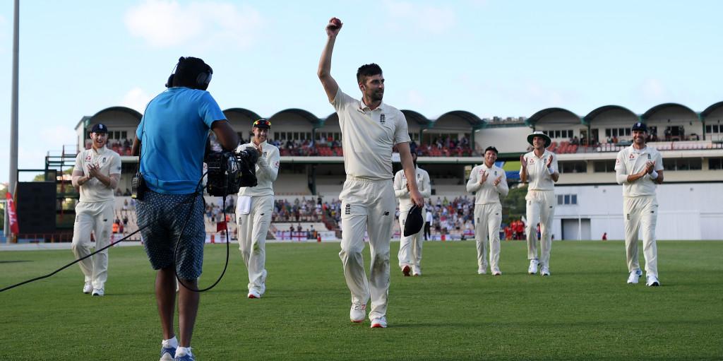 Mark Wood England score