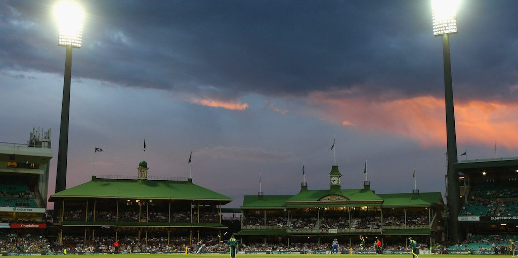SYDNEY, AUSTRALIA - FEBRUARY 17: A general view of the members pavilion during game six of the One Day International series between Australia and Sri Lanka at Sydney Cricket Ground on February 17, 2012 in Sydney, Australia. (Photo by Cameron Spencer/Getty Images)