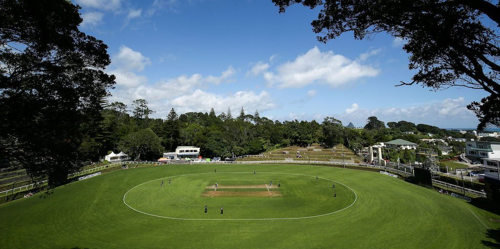NEW PLYMOUTH, NEW ZEALAND - FEBRUARY 04: during the Ford Trophy match between the Central Stags and the Northern Districts at Pukekura Park on February 4, 2017 in New Plymouth, New Zealand. (Photo by Hagen Hopkins/Getty Images)
