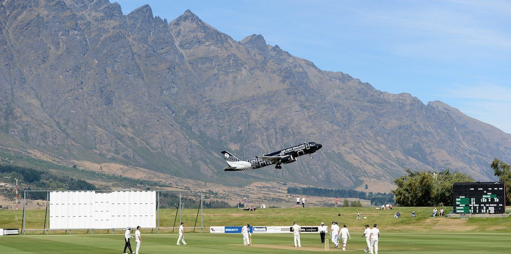 during the International tour match between New Zealand XI and England at Queenstown Events Centre on February 27, 2013 in Queenstown, New Zealand.