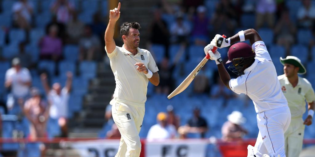James Anderson England score