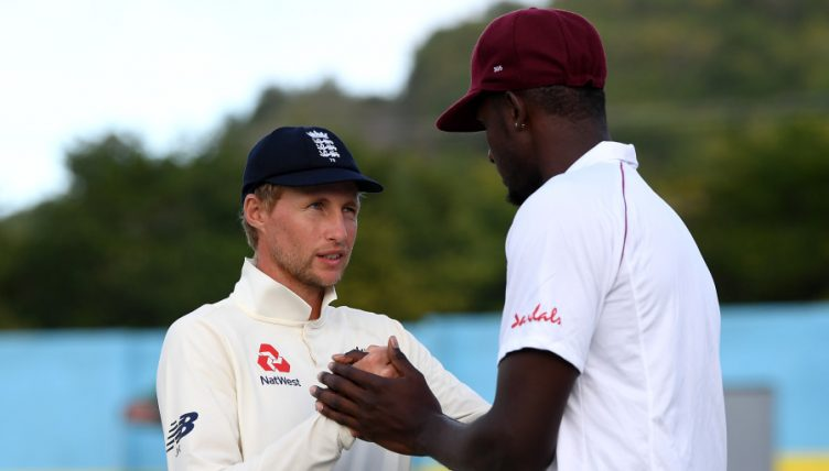 Joe Root Jason Holder England West Indies