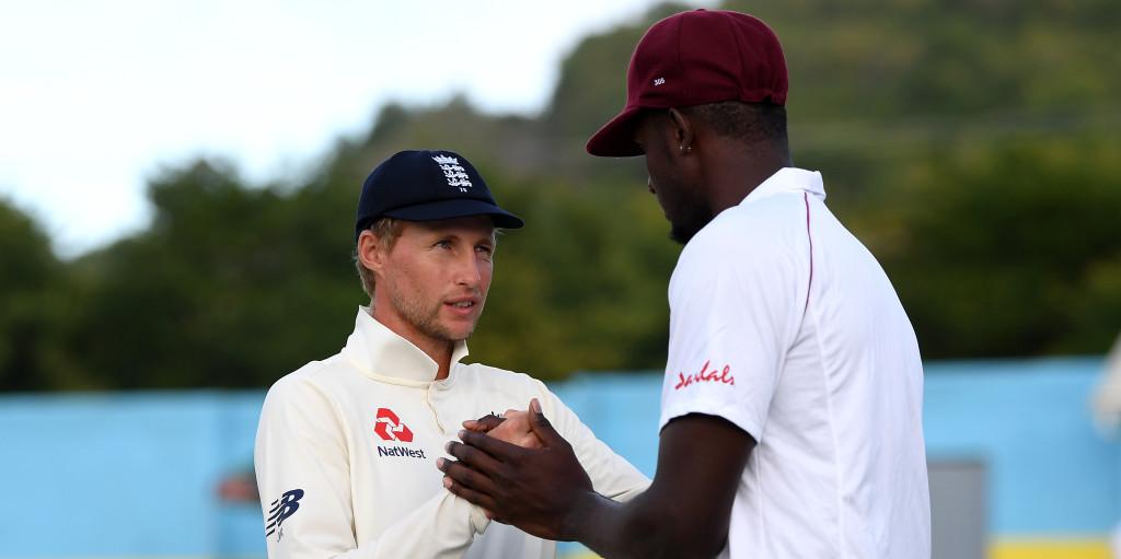 Joe Root Jason Holder England West Indies