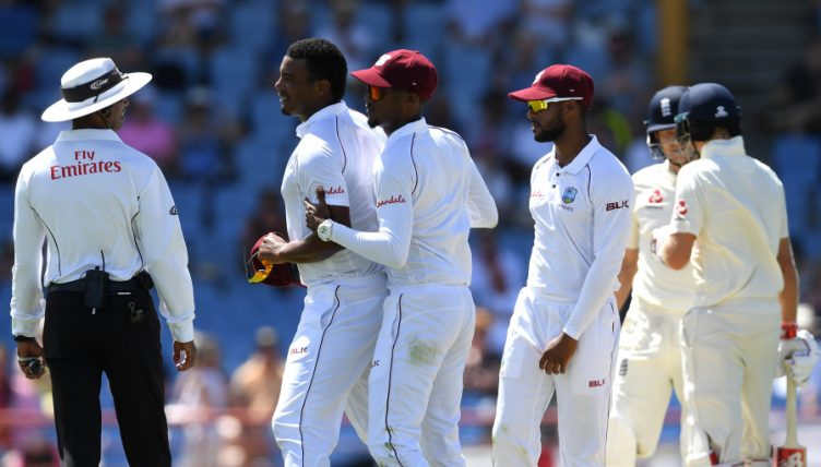 Shannon Gabriel Joe Root abuse
