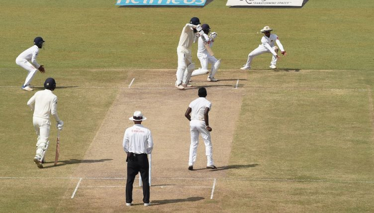during Day Three of the Third Test match between Sri Lanka and England at Sinhalese Sports Club on November 25, 2018 in Colombo, Sri Lanka.