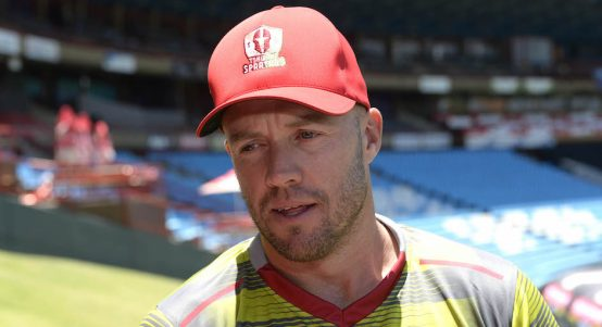 PRETORIA, SOUTH AFRICA - NOVEMBER 30: AB de Villiers of the Tshwane Spartans during the Tshwane Spartans Media Opportunity at SuperSport Park on November 30, 2018 in Pretoria, South Africa. (Photo by Lee Warren/Gallo Images)