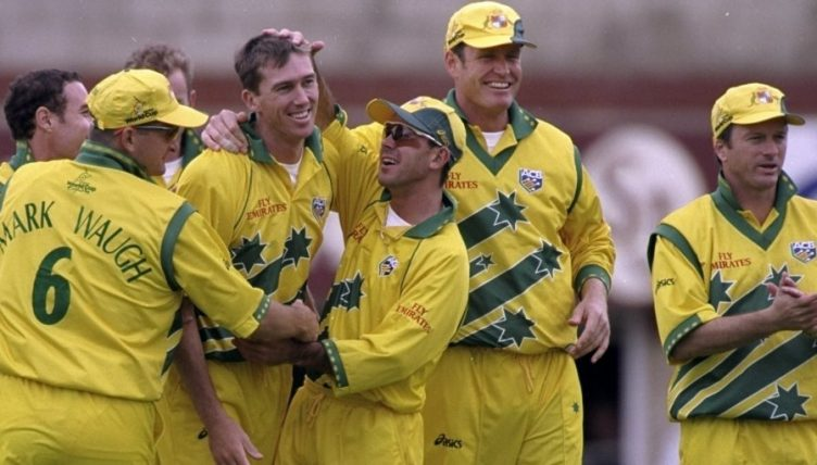 Australia 1999 World Cup kit