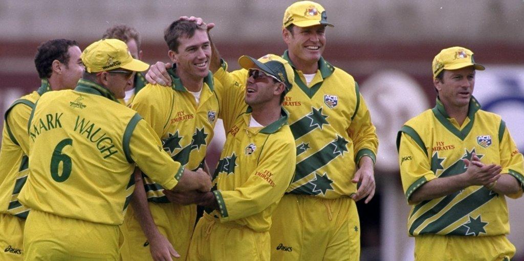 Australia 1999 World Cup kit