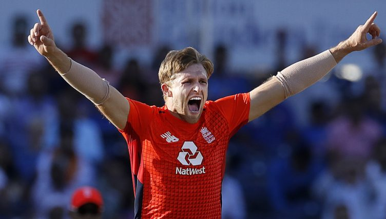 David Willey England T20 2018 PA