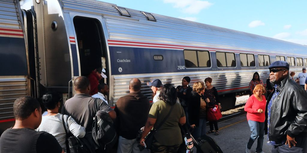 Amtrak train PA