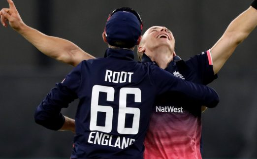 Joe Root Tom Curran ODI 2018 PA