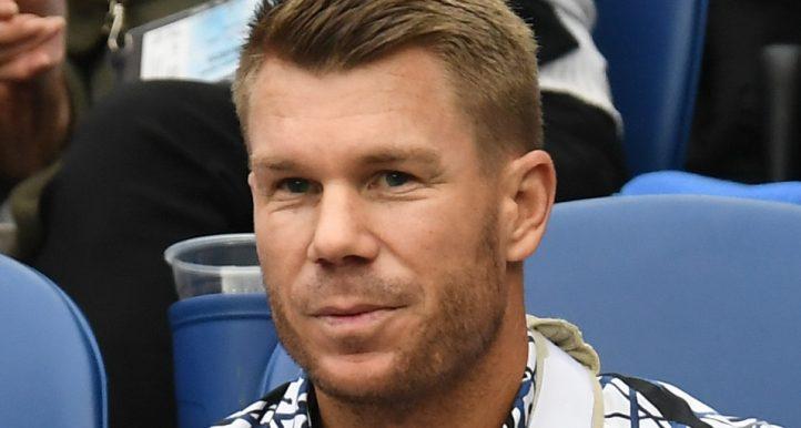 David Warner Australian Open PA