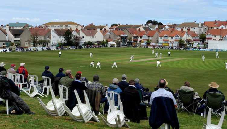 Glamorgan v Lancashire - LV County Chamionship - Division Two - Day One - Colwyn Bay Cricket Club
