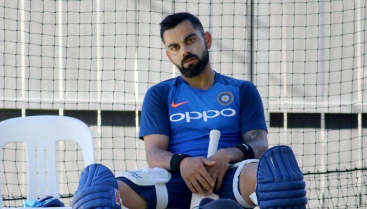Virat Kohli India nets PA