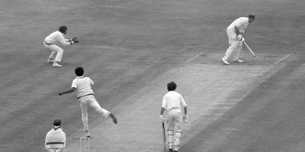 Brian Close Michael Holding 1976 PA