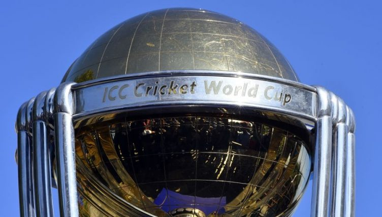 Cricket World Cup trophy generic PA
