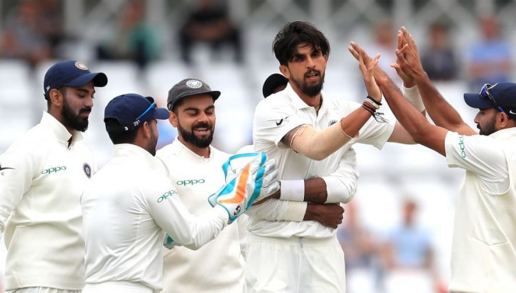 Ishant Sharma India five England 2018 PA