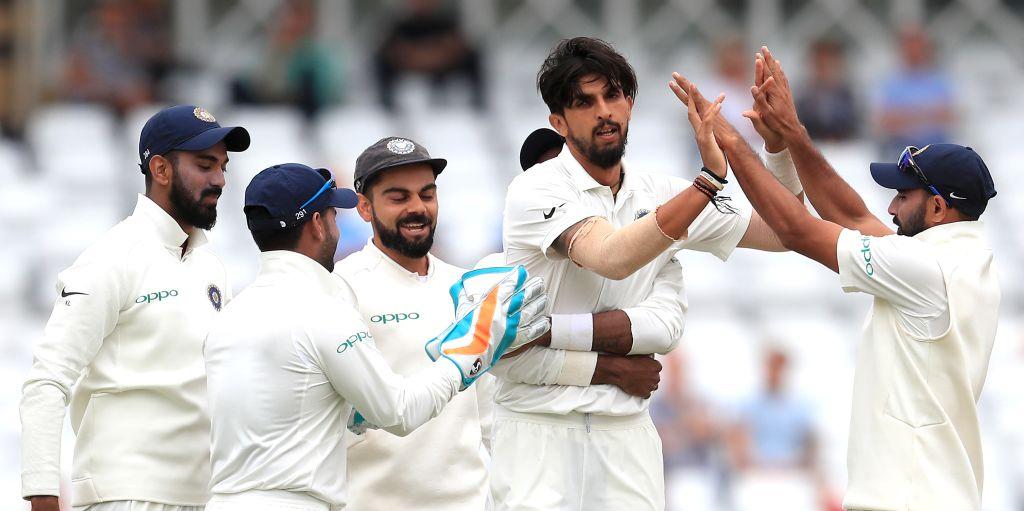 Ishant Sharma India five England 2018 PA