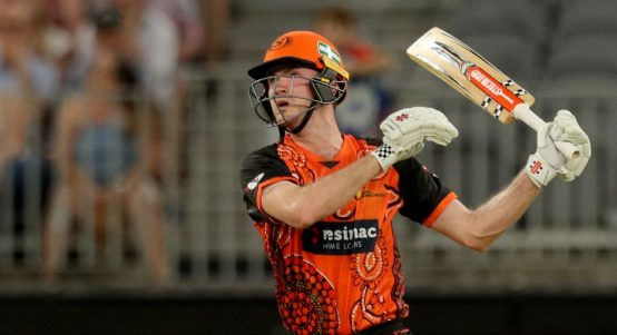 Ashton Turner Perth Scorchers duck 2018 PA