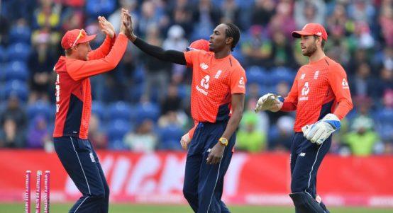Jofra Archer England Pakistan T20
