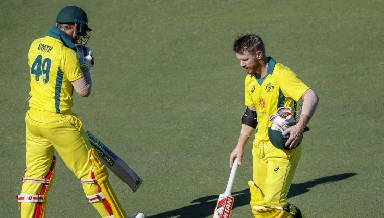 Steve Smith David Warner Australia XI