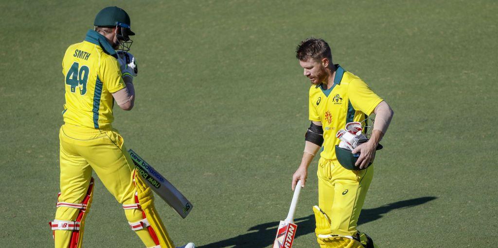Steve Smith David Warner Australia XI