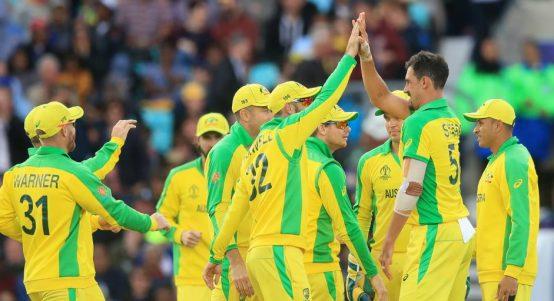 Mitchell Starc Australia Sri Lanka World Cup PA