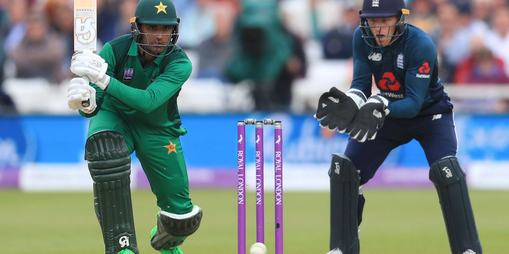 Fakhar Zaman Jos Buttler England Pakistan PA
