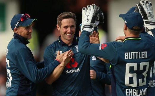 Chris Woakes England Pakistan five wickets fifth ODI PA