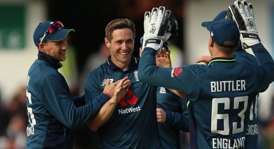 Chris Woakes England Pakistan five wickets fifth ODI PA