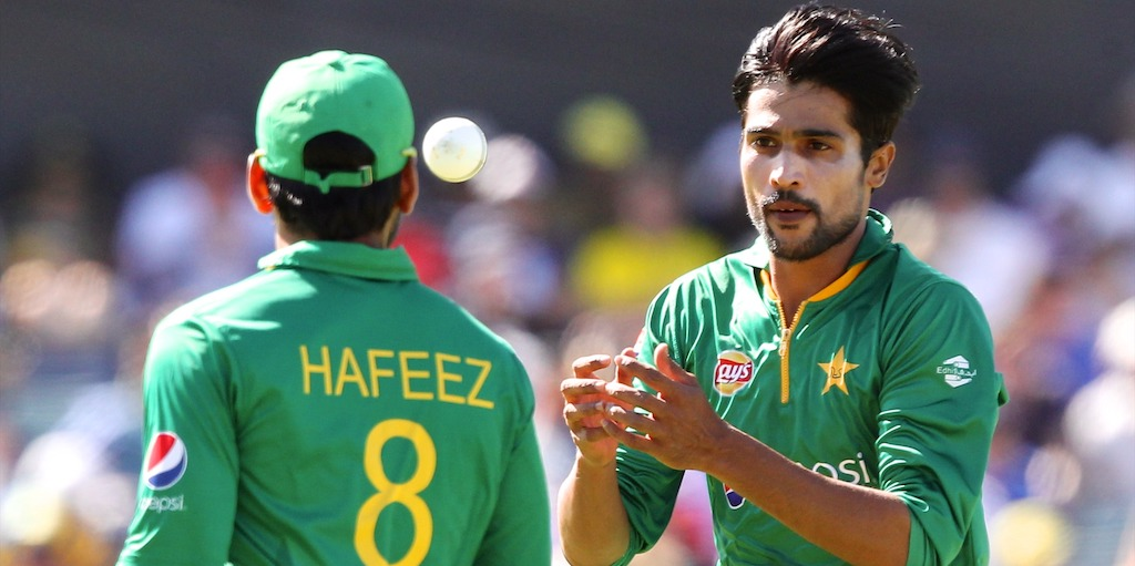 Pakistan confirm return for Amir in 15-man World Cup squad