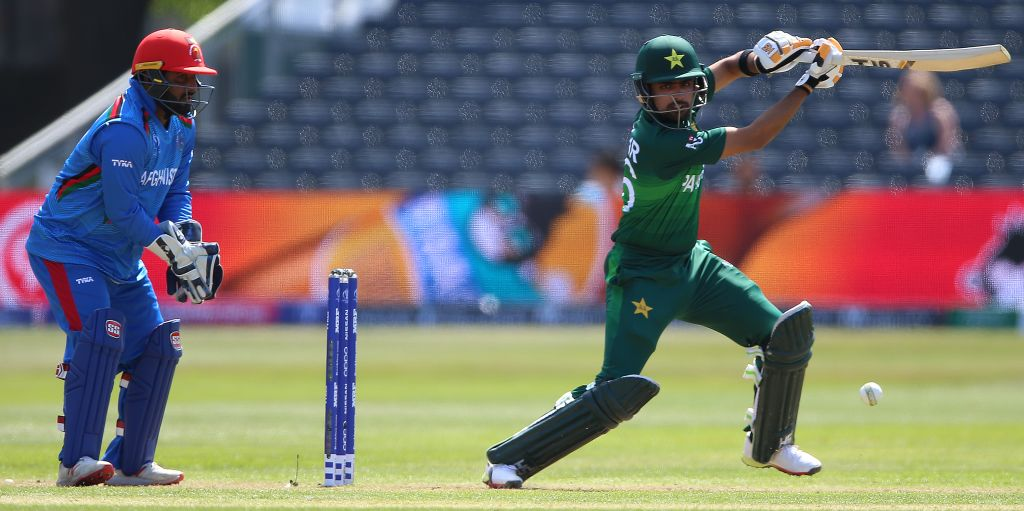 Babar Azam Pakistan Afghanistan World Cup warm-up PA
