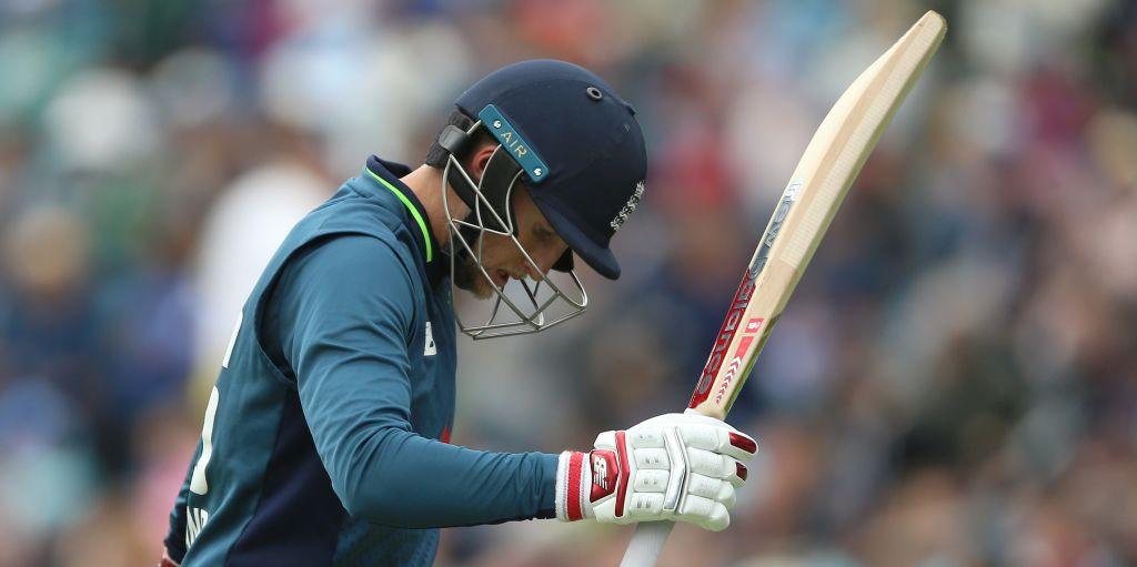 Joe Root angry Headingley ODI Pakistan PA