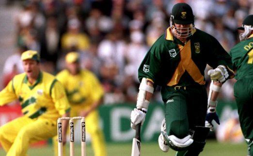 Allan Donald run out Australia South Africa 1999 World Cup semi-final PA